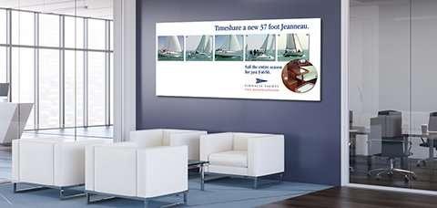 Office Wall Idea 13: Advertising Wall