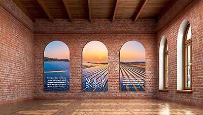 Office Wall Idea 10: Branding Wall
