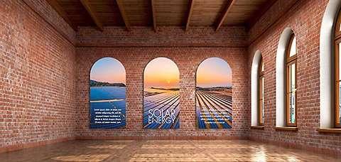 Office Wall Idea 15: Branding Wall