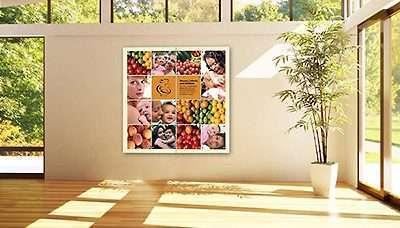Office Wall Idea 11: Hexagon Wall