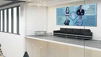 Office Wall Idea 3: Marketing Wall