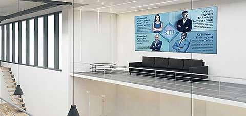 Office Wall Idea 6: Marketing Wall