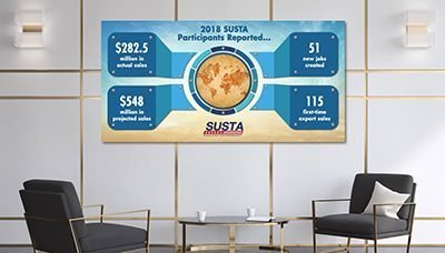 Office Wall Idea 5: Infographic Wall