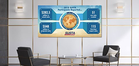 Office Wall Idea 9: Infographic Wall