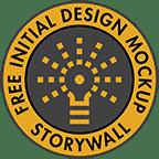 The Idea Library. Free Initial Design Mockup