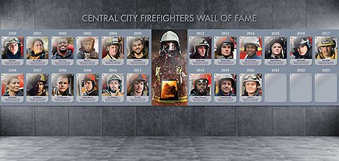 Wall of Fame Idea 3 – Honor Your Heroes