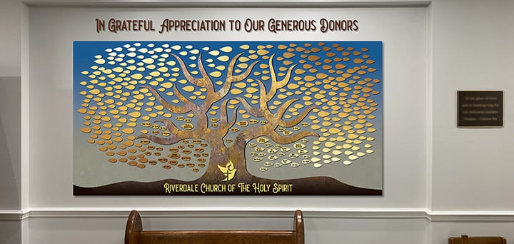 16 Donor Wall Ideas Beautiful Cost Effective Storywall
