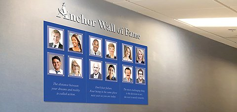 Wall of Fame Idea 5
