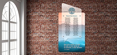 Donor Wall Idea 23